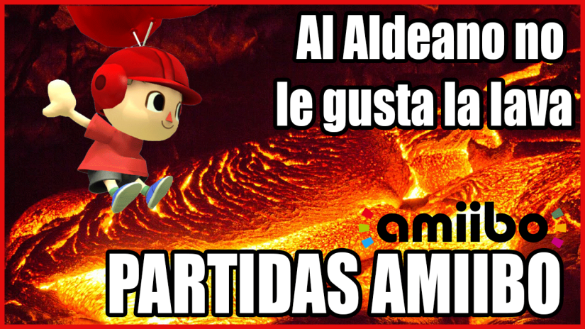 SSB WiiU: Amiibo – Al Aldeano no le gusta lalava